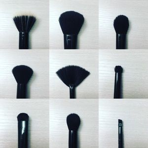 10 pc. E.L.F. Studio Makeup Brush Set